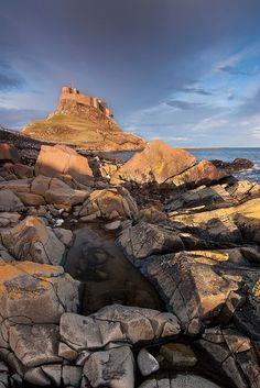 Lindisfarne Castle, Holy Island, Northumberland. http://visitnorthumberland.com/coast/holy-island