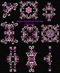 embroidery * ornament * freebies