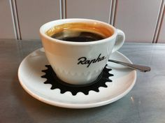.........Damn fine coffee! Bikes and caffeine mmmm. i managed to persuade the original coffee shop to sell me a cup and saucer