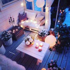 Provide Your House a Transformation with New House Design – Outdoor Patio Decor Apartment Balcony Decorating, Apartment Balconies, Outdoor Seating, Outdoor Spaces, Outdoor Yoga, Small Balcony Decor, Small Patio, Balkon Design, Balcony Garden