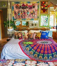 New Ideas Into Cozy Bedroom Small Boho Never Before Revealed 93 – Top Trend – Decor – Life Style Trendy Bedroom, Cozy Bedroom, Bedroom Small, Modern Bedroom, Bohemian Bedroom Decor, Boho Decor, Tapestry Bedroom Boho, Deco Bobo, Hippy Room