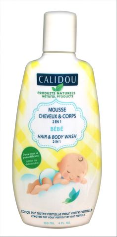 Mousse cheveux & Corps 2 en 1 Hair & Body wash 2 in 1
