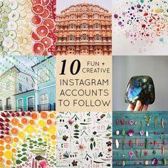 10 Creative Instagram Accounts to Follow
