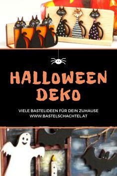 Halloween-Deko teuer kaufen? Das muss nicht sein! Bei uns findet ihr viele tolle Bastelideen, die ganz einfach nachzumachen sind! Halloween Diy, Amazing, Tutorials, Simple, Dekoration, Kids, Halloween Crafts