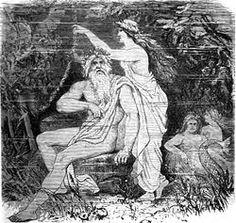 """Ægir (konge over havet) var i den nordiske mytologi en af tre jætter, som bor hos aserne.  De to andre er Loke (der repræsenterer ild) og Kari (der repræsenterer luft). Navnet Ægir knytter sig til ordet for vand, og han er personificeringen af havet.  Hans kræfter kan bruges både til godt og ondt, men har hele tiden med vandet og havet at gøre.  Floden Ejderen kaldtes også """"Ægirs dør"""", og """"Ægirs kæber"""" var de tidevandsbølger og virvelstrømme som opslugte skibe til havs. Hans kolleger er…"""
