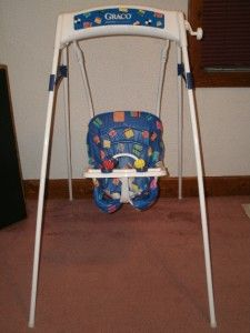 Graco+Vintage+Swingomatic+Wind+Up+Baby+Swing+Great+Condition+Come+See