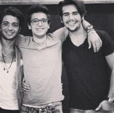 Gianluca, Piero & Ignazio ⭐IL VOLO⭐ Absolutely LOVE Ignazio's smile! I can almost hear him laughing! Credit: Il VOLONEWYORK