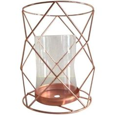 Copper Candle Coffee Table Display - Pair (66 CAD) ❤ liked on Polyvore featuring home, home decor, candles & candleholders, candle holders, copper candle, copper candlestick holder, trinket bowl, copper home decor and twin pack