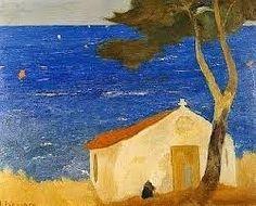 Greece Painting, Library Art, Greek Culture, Painter Artist, Greek Art, Art Moderne, Contemporary Landscape, Color Of Life, Conceptual Art