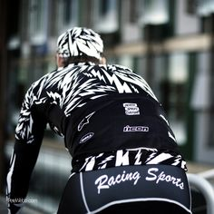 Death Spray Custom x Morvélo cycling jersey