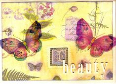 1st Christmas, Christmas Cards, Daisy May, Frantic Stamper, Butterfly Cards, Cards For Friends, Penny Black, Mixed Media Canvas, Hero Arts
