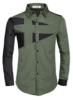 Partiss Herren Langarm Shirts Korean Style Hemd (L, Armeegruen) Partiss http://www.amazon.de/dp/B013HHIFOU/ref=cm_sw_r_pi_dp_xQa4vb13E9TCW
