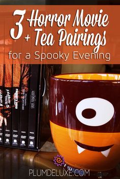 What better way to get you in the Halloween spirit than these three horror movies with tea and snack pairings.
