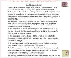 Bases y Condiciones ♥ Concurso Internacional La Pantera Rosa by Chibigumis