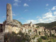 Terré au coeur des causses du même nom, le village fortifié de Minerve domine d'imposantes gorges taillées par les cours régulièrement asséchés de la Cesse et de son affluent, le Briant. Au pied de ce site exceptionnel et grandiose fut dressé le 1° bûcher collectif de la croisade contre les Albigeois, en 1210