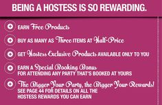 Hosting a Pampered Chef party will earn you some fabulous rewards!!!  Click the Pic to contact me today! www.pamperedchef.biz/oklovelycooks