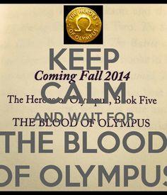 O Sangue do Olimpo Outubro de 2014...