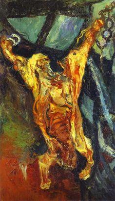 Chaïm Soutine  Carcass of Beef  c.1925