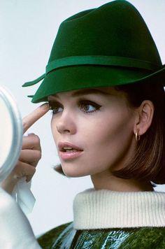 Marola Witt, photo by Francesco Scavullo, Glamour, 1964