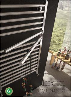 design radiator_badkamer design radiator_adhoc_krom Radiators, Blinds, Architecture Design, Home Appliances, Curtains, Bathrooms, Home Decor, Ideas, Stainless Steel