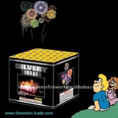 consumer fireworks logos | Slivery Tornado-36 Shots Consumer Cake Fireworks