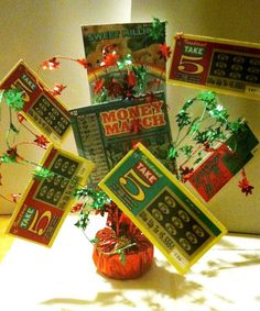 Pin on Lottery Ticket Ideas Lottery Ticket Christmas Gift, Lottery Ticket Tree, Homemade Christmas Gifts, Homemade Gifts, Holiday Gifts, Diy Gifts, Christmas Presents, Diy Birthday Gifts For Him, Birthday Presents