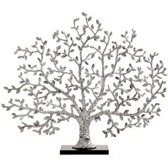 Michael Aram Tree of Life Silvery Fireplace Screen (34,585 MXN) ❤ liked on Polyvore featuring home, home decor, fireplace accessories, decor, filler, other, deco, silver and michael aram