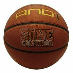 AND 1 Zone Control Basketball 8 Panel Synthetic Leather Size 7 Ball  £15.49