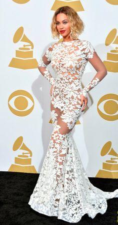 Beyoncé no Grammy 2014 (26/01/14)