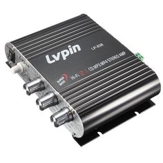 Lvpin LP-838 Car Home Mini Hi-Fi Stereo Amplifier Booster Radio MP3 Super Bass 200W 2.1ch 12V