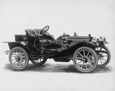 1909 Packard 18 Model NAS runabout, 4-cylinder, 18-horsepower, 102-inch wheelbase, 2/3-person runabout, no top