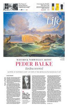 Maverick Norwegian Artist Peder Balke Rediscovered|The Epoch Times #Arts #Paintings #newspaper #editorialdesign
