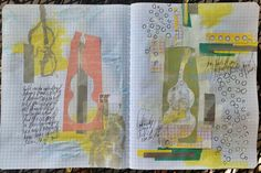 Art journal entry by MyAnalogLife, via Flickr