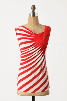 I love these stripes, they are so cute and the draping done with them is awesome.