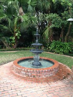 Residential Outdoor Fountain  #fountainlighting