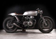 """1976 Honda CB750 """"Natural"""""""