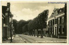 Beetsterzwaag, Dorpstraat met Gemeentehuis