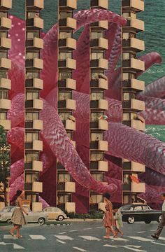 David Delruelle's Playful Collages