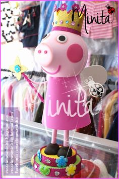 CREACIONES MINITA: Fofucha Peppa Pig
