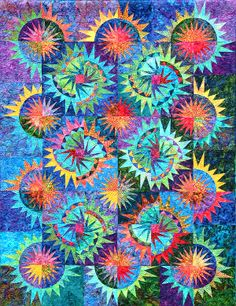 quilting patterns with four colors | ... 4th of July - Buy Foundation Paper Piecing Quilt Patterns - Quilt Shop