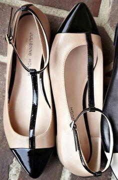 Addy t-strap flat