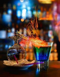 Need to find a bartender who can do this.