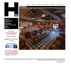 Humble Pie Restaurant website by Designbox #designboxweb #designboxbrand #humblepierestaurant www.humblepierestaurant.com