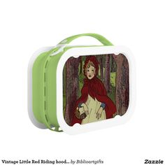 Vintage Little Red Riding hood book art