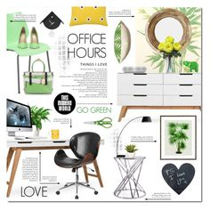 """""""Office Hours"""" by justlovedesign ❤ liked on Polyvore featuring interior, interiors, interior design, home, home decor, interior decorating, Flash Furniture, Cole & Son, WMF and Beats by Dr. Dre"""