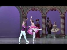 Polina Semionova Power and elegance Sugar Plum Fairy The Nutcracker - YouTube