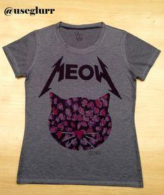 Tshirt Meow Cat - Glurr Tshirts