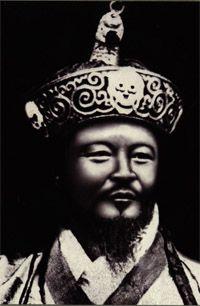 pierwszy król z dynastii Wangchuck - Ugyen Wangchuk [1907-1926]