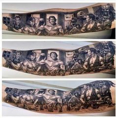Arnold Schwarzenegger Movie tattoo