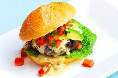 Sandwiches and Wraps – White Cheese Burger Recipe – Burgers.Sandwiches and Wraps – # White cheese burger recipe Cheese Burger, Queso Cheese, Cheese Sauce, Tomato Soup Recipes, Vegetable Soup Recipes, Burger Recipes, Beef Recipes, Making Burger Patties, Strawberry Muffin Recipes